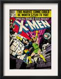 Marvel Comics Retro: The X-Men Comic Book Cover 137, Phoenix, Colossus (aged) Posters