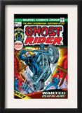 Ghost Rider 1 Cover: Ghost Rider Art by Gil Kane
