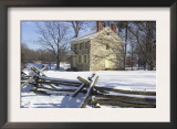General Washington's Headquarters at Valley Forge during Winter Encampment, Pennsylvania Print
