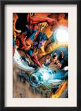 War of Kings: Ascension 4 Group: Gladiator, Havok and Darkhawk Print by Wellinton Alves