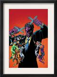 New Thunderbolts 10 Cover: Purple Man Prints by Tom Grummett