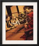 Uncanny X-Men Annual 2 Group: Emma Frost, Dr. Doom, Osborn and Norman Prints by Mitchell Breitweiser