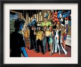Handbook: X-Men 2005 Group: Nightcrawler, Wolverine, Beast, Emma Frost, Colossus and Storm Posters by Darick Robertson
