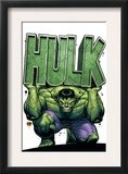 Marvel Adventures Hulk 4 Cover: Hulk Poster by David Nakayama