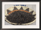 Wild Rice from the Great Lakes Area, in a Basket Posters
