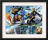 Nova 21 Group: Nova, Mr. Fantastic, Invisible Woman, Thing and Human Torch Art by Wellinton Alves