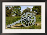 Revolutionary War Cannon Atop a Redoubt at Yorktown Battlefield, Virginia Poster