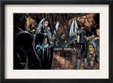 X-Men: Age of Apocalypse 4 Group: Storm and Husk Prints by Chris Bachalo