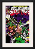 Secret Wars 6 Cover: Dr. Doom, Absorbing Man, Lizard, Doctor Octopus, Wrecker and Ultron Poster by Mike Zeck