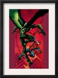 Ultimate Spider-Man 90 Cover: Vulture and Spider-Man Prints by Mark Bagley
