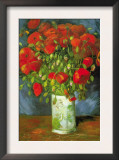 Red Poppies Prints by Vincent van Gogh