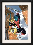X-Men Power Pack 3 Cover: Nightcrawler and Energizer Posters by Gurihiru Unknown