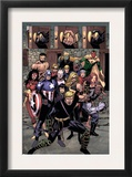 The Mighty Avengers 30 Group: Ronin Prints by Sean Chen