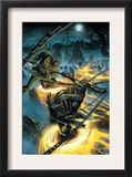Ghost Riders: Heavens On Fire 4 Cover: Ghost Rider and Scarecrow Prints by Dustin Weaver