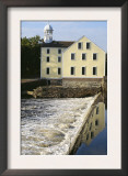 Slater's Mill, First U.S. Textile Factory, Pawtucket, Rhode Island Posters