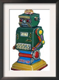 Answer Game Robot Prints