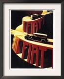 1930's Fiat Car Prints