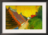 Saintes-Maries Road Through The Town Posters by Vincent van Gogh