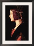 Lady Beatrice D'Este Posters by  Leonardo da Vinci