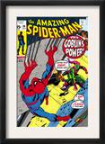 The Amazing Spider-Man 98 Cover: Green Goblin and Spider-Man Fighting Posters by Gil Kane