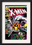 Uncanny X-Men 139 Cover: Shadowcat, Storm, Angel, Colossus, Nightcrawler, Wolverine and X-Men Posters by John Byrne