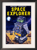 Space Explorer Posters
