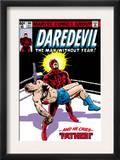 Daredevil 164 Cover: Daredevil Print by Frank Miller