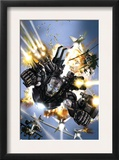 War Machine 1 Cover: War Machine Posters by Leonardo Manco
