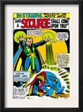 Strange Tales 161 Cover: Dr. Strange and Baron Mordo Prints by Dan Adkins