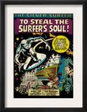 Marvel Comics Retro: Silver Surfer Comic Panel (aged) Posters