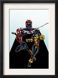 Spider-Girl 92 Cover: Spider-Girl, Shadowcat and Magneto Posters by Ron Frenz