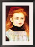 Portrait of Lucie Bernard Art by Pierre-Auguste Renoir