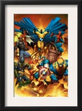 The New Avengers 1 Cover: Spider-Man Posters by Joe Quesada