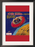 Battery Operated Flying Saucer Posters