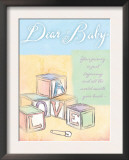 Dear Baby Posters by Flavia Weedn