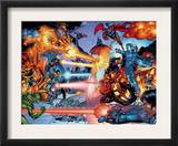 X-Men: The End 3 Group: Iceman and Cyclops Prints by Sean Chen