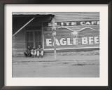 Street Scene, Natchez, Mississippi, c.1935 Prints by Ben Shahn
