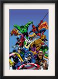 Secret Wars Cover: Captain America Prints by Mike Zeck
