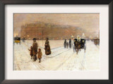 Urban Fairy Tale Poster by Childe Hassam