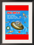 Space Ship X-5 Poster
