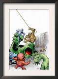 Marvel Monsters: Fin Fang Four 1 Cover: Fin Fang Foom Posters by Eric Powell