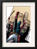 Young Avengers 2 Cover: Patriot, Hulkling, Iron Lad, Wiccan, Young Avengers and Asgardian Posters by Jim Cheung