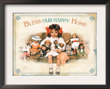 Our Happy Home Posters by Bessie Pease Gutmann