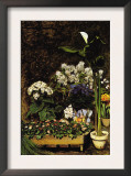 Mixed Spring Flowers Print by Pierre-Auguste Renoir