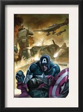 Captain America 601 Cover: Captain America Prints by Gene Colan