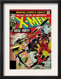 Marvel Comics Retro: The X-Men Comic Book Cover 103 with Storm, Nightcrawler, Banshee(aged) Prints