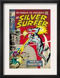 Marvel Comics Retro: Silver Surfer Comic Book Cover 7 (aged) Posters