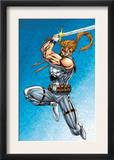 X-Force: Shatterstar 1 Cover: Shatterstar Posters by Marat Mychaels