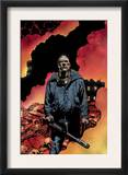 Punisher: The End 1 Cover: Punisher Prints by Richard Corben