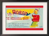Mr. Robot: The Mechanical Brain Prints